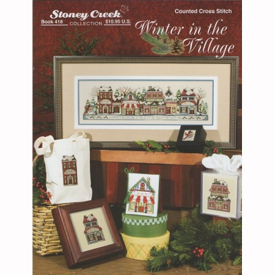 WINTER IN THE VILLAGE-418(BOOK)/10-1224