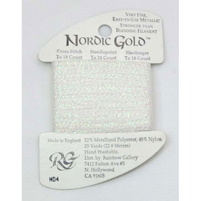 NORDIC GOLD ND4 (WHITE PEARL)