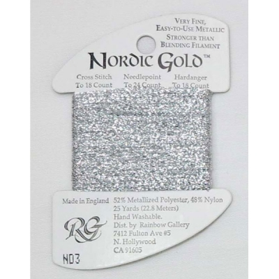 NORDIC GOLD ND3 (SILVER)
