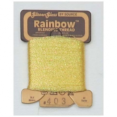 RAINBOW(GLISSEN GLOSS) IRID PALE YELLOW-403