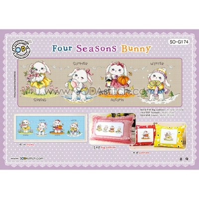 Four Seasons Bunny-[소다특대-174]