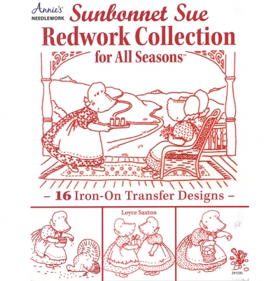 [Book-SP]레드웍자수/Sunbonnet Sue Redwork Collection