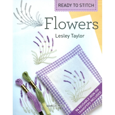 [Book-SP]자수책-Ready to Stitch- Flowers