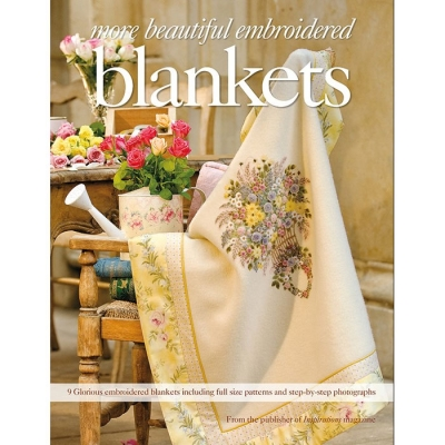 [Book-SP]블랭킷 도안책 / More Beautiful Embroidered Blankets