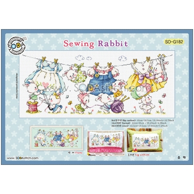 Sewing Rabbit-[소다특대-182]